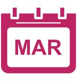 March, month Special Event day Vector icon that can be easily modified or edit. vector illustration