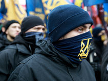 March of National Dignity in Kyiv Stock Photos