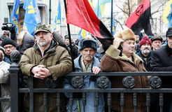 March of National Dignity in Kyiv Royalty Free Stock Photography