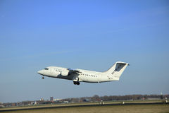 March, 22nd 2015, Amsterdam Schiphol Airport EI-RJH Cityjet Brit Royalty Free Stock Images