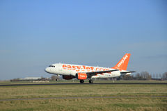 March, 22nd 2015, Amsterdam Schiphol Airport G-EZBC easyJet Airb Stock Images