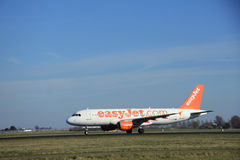 March, 22nd 2015, Amsterdam Schiphol Airport G-EZTM easyJet Airb Stock Image