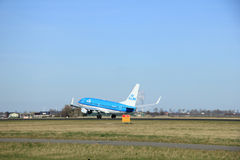 March, 22nd 2015, Amsterdam Schiphol Airport PH-BGO KLM Royal Du Royalty Free Stock Photography