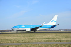 March, 22nd 2015, Amsterdam Schiphol Airport PH-BGP KLM Royal Du Royalty Free Stock Photography