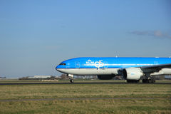 March, 22nd 2015, Amsterdam Schiphol Airport PH-BQB KLM Royal Du Royalty Free Stock Photos