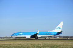 March, 22nd 2015, Amsterdam Schiphol Airport PH-BXF KLM Royal Du Stock Image