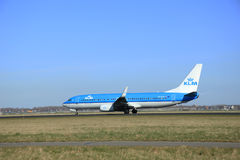 March, 22nd 2015, Amsterdam Schiphol Airport PH-BXH KLM Royal Du Royalty Free Stock Photo