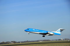 March, 22nd 2015, Amsterdam Schiphol Airport PH-KZM   KLM Cityho Stock Photography