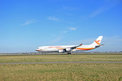 March, 22nd 2015, Amsterdam Schiphol Airport PZ-TCP Surinam Airw Stock Images