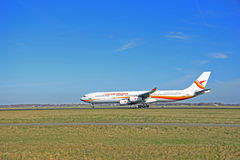 March, 22nd 2015, Amsterdam Schiphol Airport PZ-TCP Surinam Airw Royalty Free Stock Photos