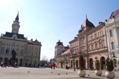 He central square in Novy Sad stock photos