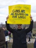 March for our Lives in Hartford Connecticut stock photos