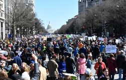 March For Our Lives on March, 24 in Washington, DC Royalty Free Stock Photo