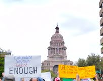 March for our Lives rally in Austin, Texas Stock Images