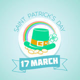 17 March  Patricks Day Stock Image
