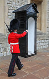 March of queen's guard Stock Photo
