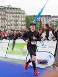 March, 3rd 2015. harmony marathon in geneva. switzerland. Royalty Free Stock Photography