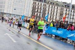 March, 3rd 2015. harmony marathon in geneva. switzerland. Stock Photo