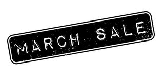 March Sale rubber stamp Stock Photography