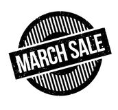 March Sale rubber stamp Royalty Free Stock Photo
