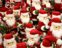 March of the Santas Stock Image