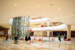 Shenzhen china: haiya binfen city shopping plaza Stock Photography