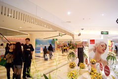 Shenzhen rainbow department store the new store opening Royalty Free Stock Images
