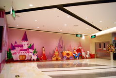 Shenzhen rainbow department store the new store opening Royalty Free Stock Photography