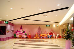 Shenzhen rainbow department store the new store opening Royalty Free Stock Image