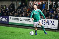 Shane Griffin at League of Ireland Premier Division match Cork City FC vs Derry City FC. March 1st, 2019, Cork, Ireland - Shane Griffin at League of Ireland stock photo