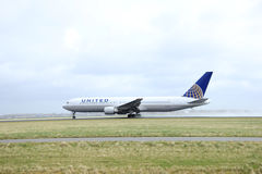 March, 27th 2015, Amsterdam Schiphol Airport N654UA United Airli Royalty Free Stock Images