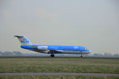 March, 24th 2015, Amsterdam Schiphol Airport  PH-WXD KLM Cityhop Stock Images