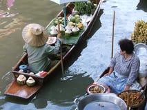 Marché thaï de l'eau Photos libres de droits