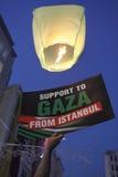 March to commemorate Mavi Marmara raid royalty free stock images