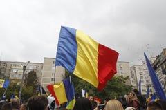 March union Romania and Moldova Royalty Free Stock Photos