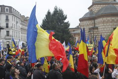 March union Romania and Moldova Royalty Free Stock Images