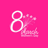 8 March Women`s Day Royalty Free Stock Photo