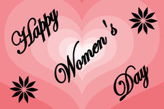 8 March - Women`s Day Royalty Free Stock Image