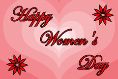 8 March - Women`s Day. 8 March International Women`s Day Royalty Free Stock Photography