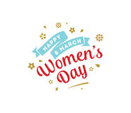 8 March. Womens day background. Royalty Free Stock Image