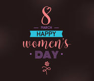 8 March. Womens day background. Royalty Free Stock Photo