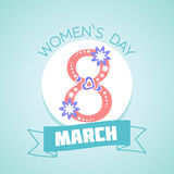 8 March Womens Day Royalty Free Stock Photography