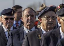 Marcha de los veteranos Fotografía de archivo libre de regalías