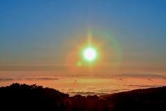Marcha de Nubes Fotografía de archivo
