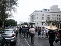 132 marcha de protesto Imagens de Stock