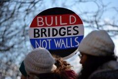 Marcha de protesto Imagem de Stock Royalty Free