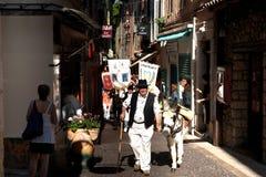 Marcha del primero de mayo. Imágenes de archivo libres de regalías