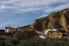 Marchal,格拉纳达,西班牙 免版税库存图片