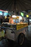 Marchand ambulant à Bangkok Images libres de droits