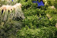 Marchand de légumes Image stock